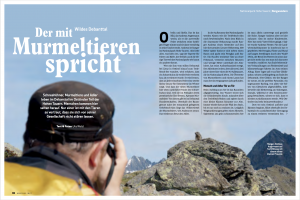 Ute Watzl Bergsteiger Reportage Hohe Tauern