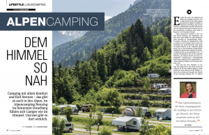 Alpen-Camping Nenzing Reportage Reiselust Ute Watzl